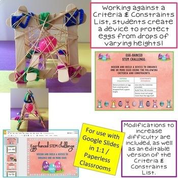 Easter STEM Challenge: Egg-hanced Paperless Version