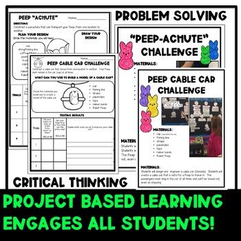 Easter STEM Challenges K-2