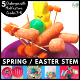 Easter - Spring STEM Challenge 5-in-1 Bundle