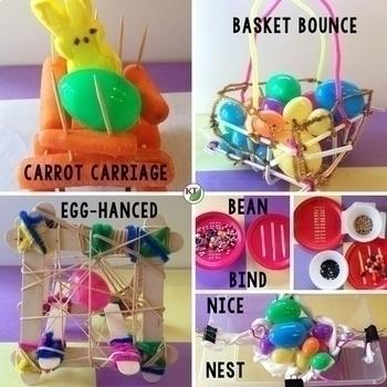 Easter STEM Challenge Bundle