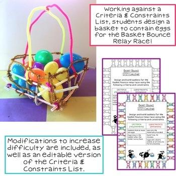 Easter STEM Challenge: Basket Bounce