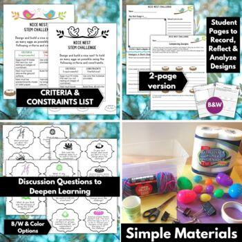 Spring STEM Challenge: Nice Nest