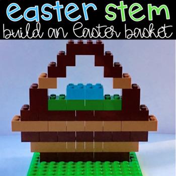 Easter STEM Project: Design an Easter Basket Using Building Bricks Activity