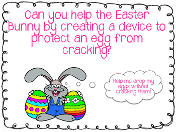 Easter STEM - Design an Egg Protecting Device