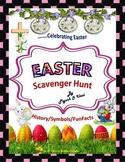 Easter Scavenger Hunt - {An activity on Easter History/Sym