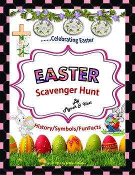 Easter Scavenger Hunt - {An activity on Easter History/Sym