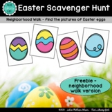 Easter Scavenger Hunt - FREEBIE - Neighborhood Version
