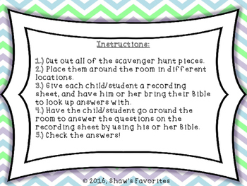 Easter Scavenger Hunt {True Story}