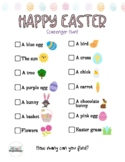Easter Scavenger Hunt in Spanish and English for Kids