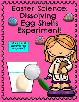 Easter Science: Dissolving Egg Shells Experiment