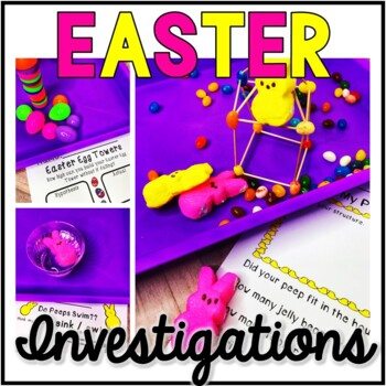 Easter Science - Easter Investigations- Exploration-STEM