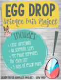 Easter Science Project - Egg Drop with 5 Days of Lesson Plans