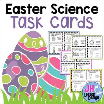 Easter Science Task Cards