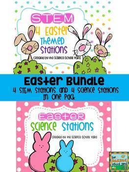 Easter Science and STEM Bundle