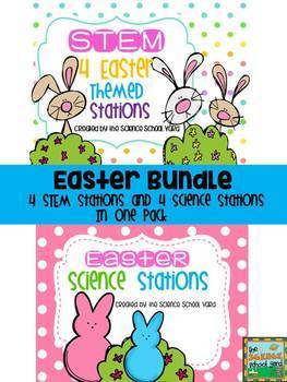 Easter Science and STEM Bundle