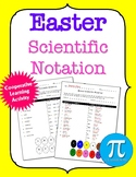 Easter Scientific Notation Cooperative Learning Activity