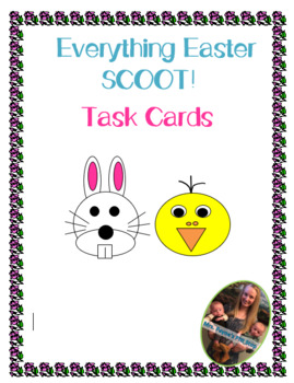 Easter Scoot! 20 Different Task Cards!