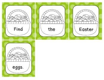 Easter Scrambled Sentences