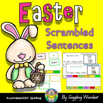 Easter Scrambled Sentences