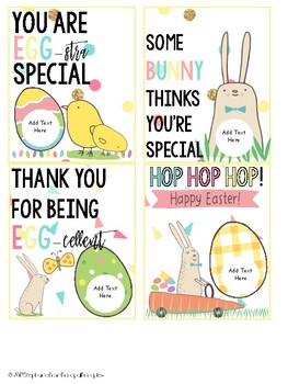 Easter Scratch Off Tickets- Editable