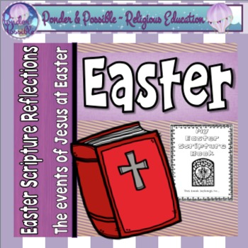 Easter Scripture Reflections - Holy Thursday, Good Friday
