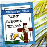 Easter Scriptures Handwriting - Level 2: Copy Work (KJV)