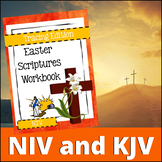Easter Scriptures Handwriting - Level 1: Tracing (KJV)