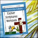 Easter Scriptures Handwriting - Level 2: Copy Work (NIV)