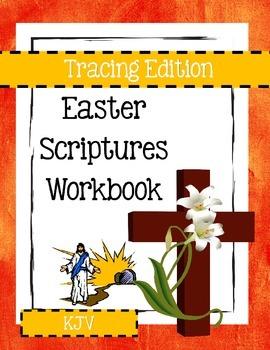 Easter Scriptures Workbook - Level 1 - KJV