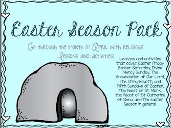 Easter Season Pack for April 2016