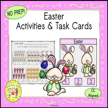 Easter Clip Task Cards