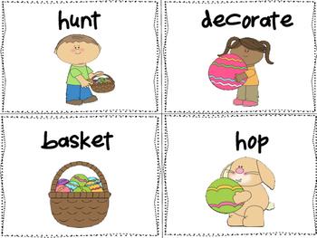 Easter Seek, Find, Write