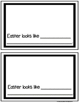 Easter Senses Student Booklet {FREE}