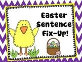 Easter Sentence Fix-Up!
