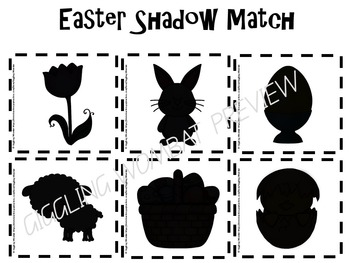 Easter Shadow Match