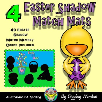 Easter Shadow Mats