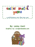 Easter Shape MATCH Game