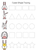 Easter Shape Tracing