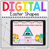 Easter Shapes Digital Activity   Distance Learning