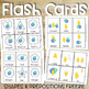 Easter Shapes and Positional Words Flash Cards