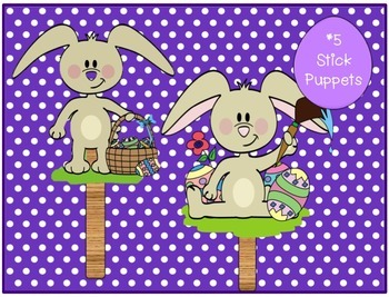 Easter Shared Reading Singable - Five Little Bunnies