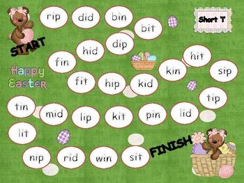 Easter Short-Vowel Games