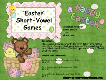 Easter Short-Vowel Games