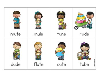 Easter Short and Long Vowel Game