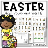 Easter  Game to Practice Reading Short and Long Vowels CVC and CVCe Words