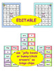Easter: Sight Word Bingo - Editable