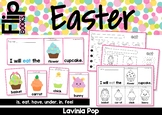 Easter Sight Word Fluency Flip Books with Writing Pages