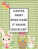 Easter Sight Word Game-2nd Grade Dolch List