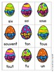 Sight Word Games in French with an Easter theme (Paques/Pâques)