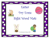 Easter Sight Word Mats Dry Erase